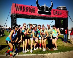 Warrior Dash before